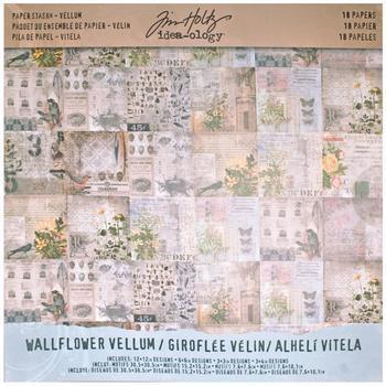 Idea-Ology Vellum Paper Stash 30x30