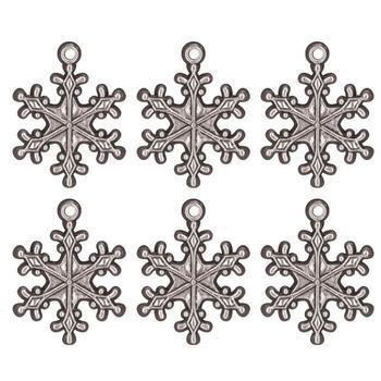 Idea-Ology Snowflake Adornments 6/Pkg