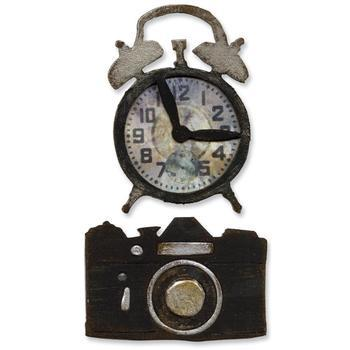 Movers&Shapers Vintage Alarm Clock & Camera