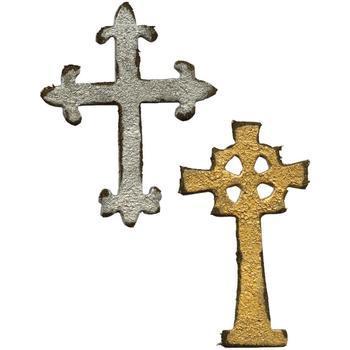 Movers&Shapers Mini Ornate Crosses