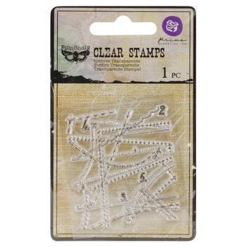 Vintage Vanity Clear Stamps 2.2