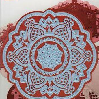 Creatables stencil Anja's circle