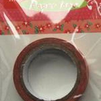 Paper tape christmas rose