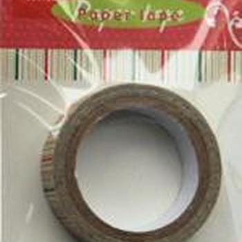 Paper tape christmas stripes